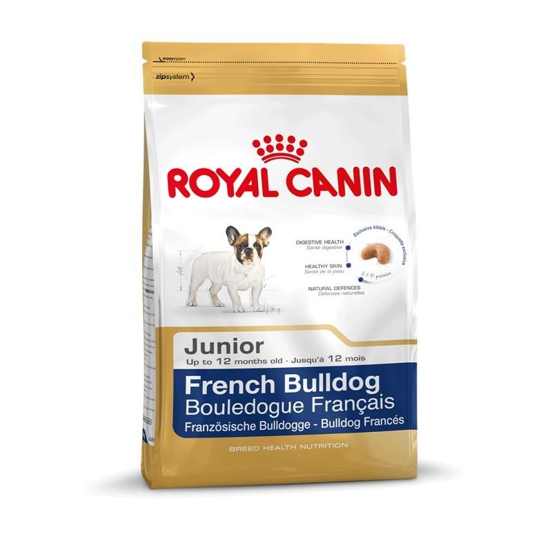 Royal Canin Breed Health Nutrition French Bulldog Junior 3182550777674 kokemuksia