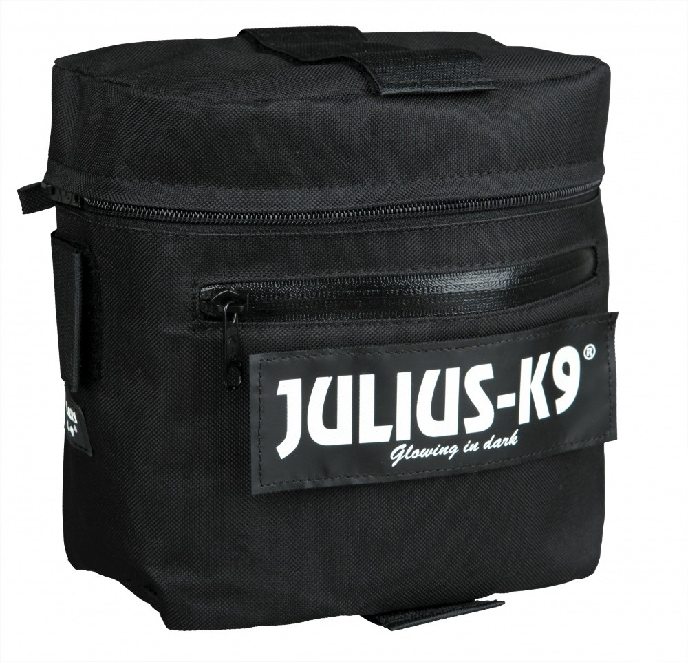 Julius K9 Alforjas Negro Size 1/2
