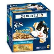 Felix Multipack Sensations Gelée Sélection au Poisson 24x100 g