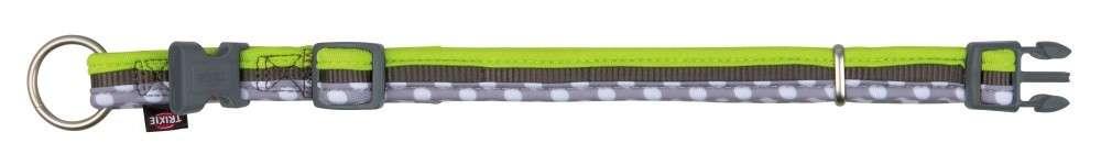 Trixie Halsband Freshpot, Taupe/licht Groen/Grijs 40-65x2.5 mm met korting aantrekkelijk en goedkoop kopen