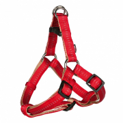 Harnesses Trixie Softline Elegance One Touch Harness, Red/Beige