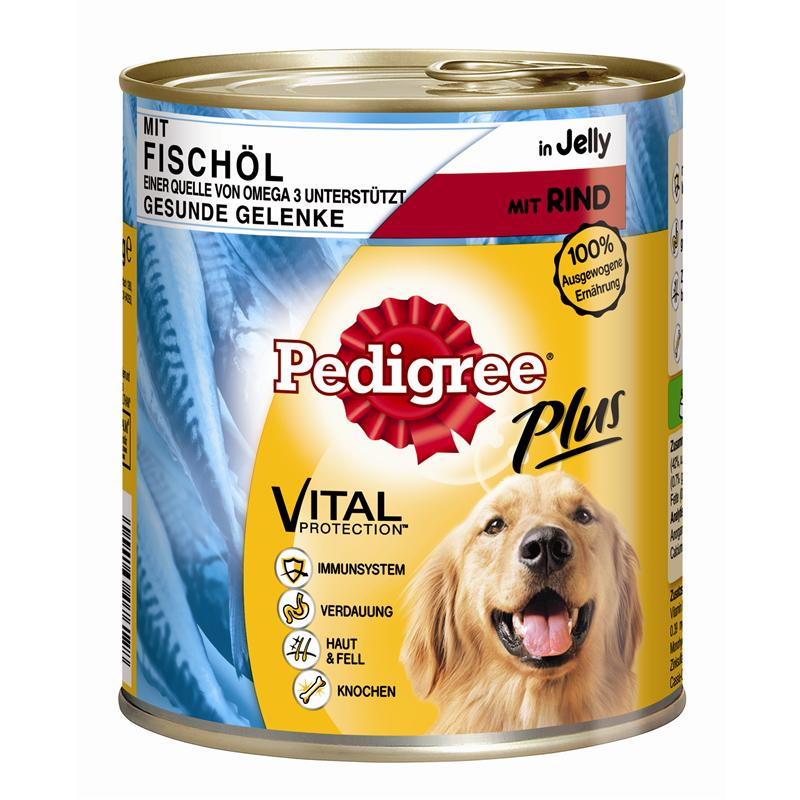 Pedigree Adult Plus Visolie-Rund 400 g, 800 g
