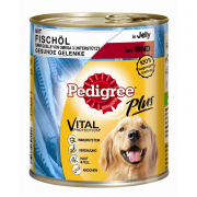 Pedigree Koiran märkäruoka  : Dose Adult Plus Fish Oil with Beef shoppaile edullisesti