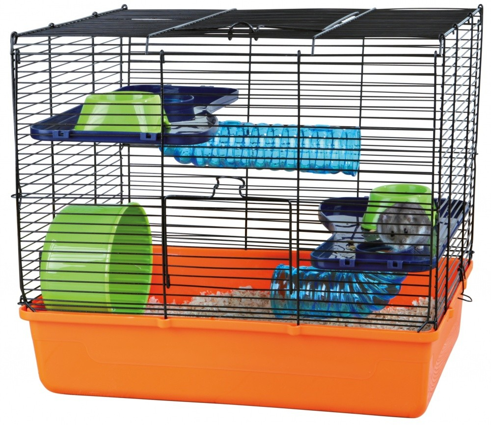 Trixie Cage with Basic Equipment 40x38x30  cm  kjøp billig med rabatt