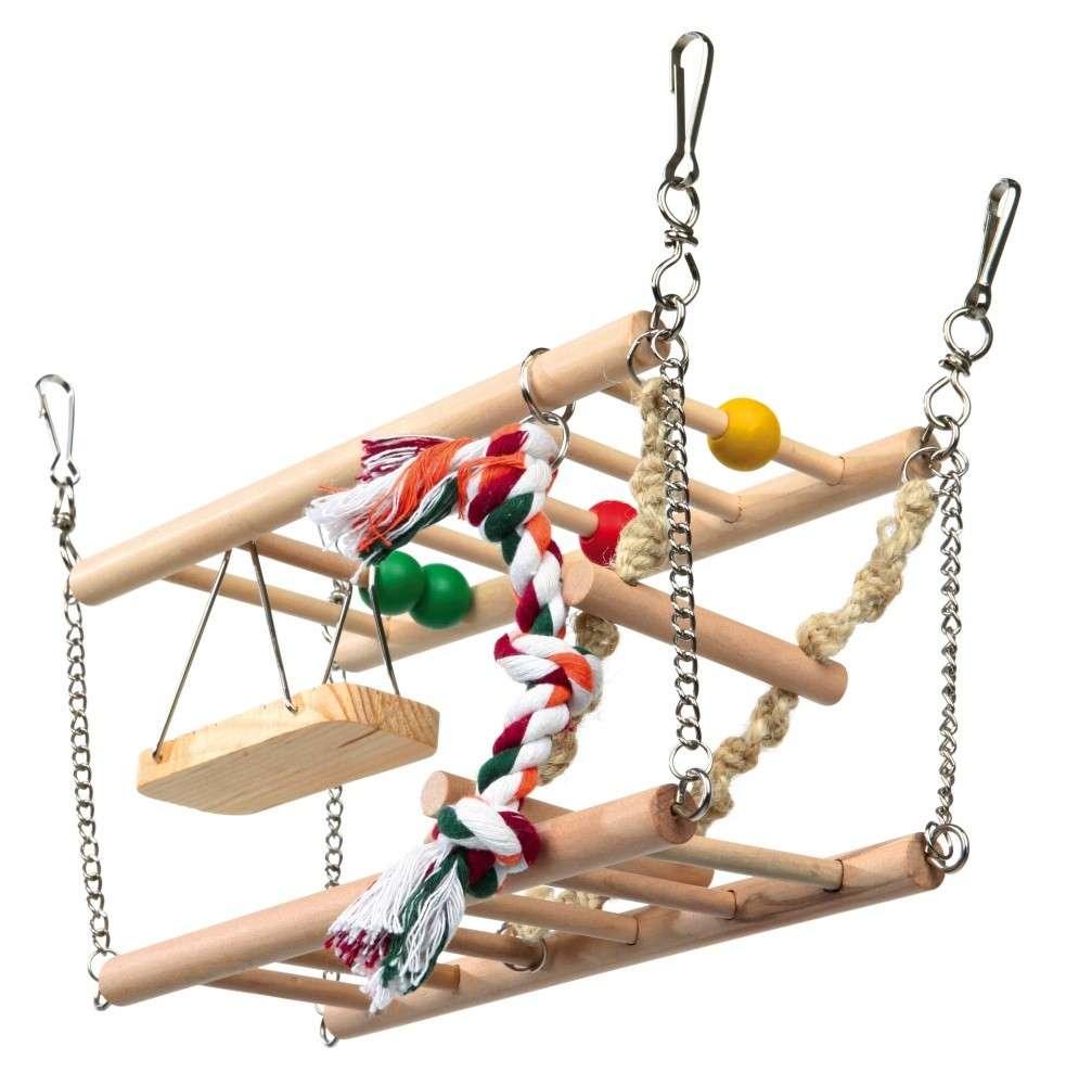 Trixie Hangbrug met 2 verdiepingen 27x16x10 cm  met korting aantrekkelijk en goedkoop kopen