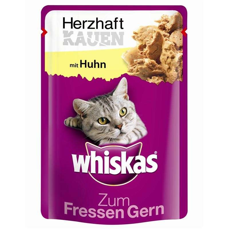 Whiskas Me Encanta Comer -  Muerde y Disfruta con Pollo 85 g