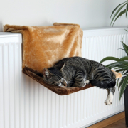 Radiator Bed Plush Trixie Cat sleeping baskets & bags Top quality. Get your discount now!