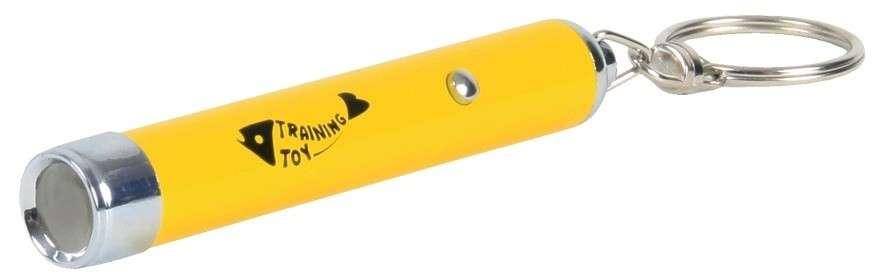 Trixie Led Pointer Catch The Light Geel 8 cm met korting aantrekkelijk en goedkoop kopen