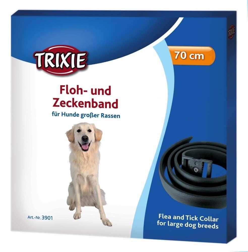 Trixie Floh- und Zeckenband, schwarz 70 cm