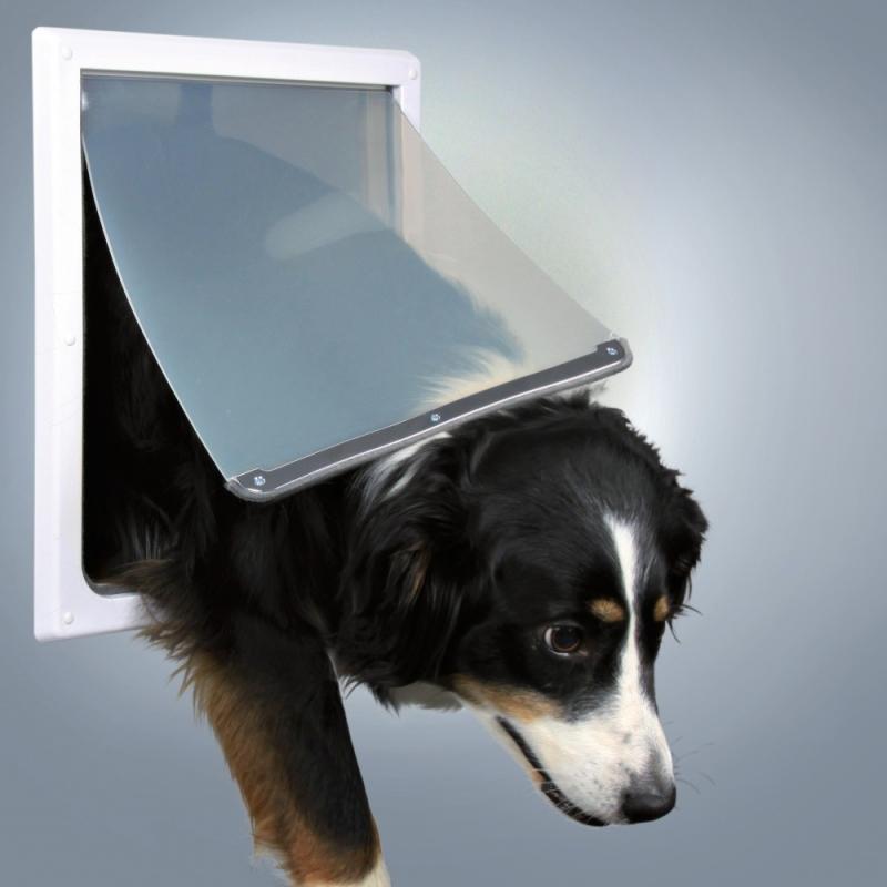 Trixie 2 Wege Freilauftür für Hunde M-L