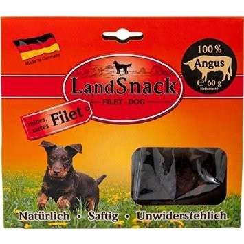 Landfleisch LandSnack Dog Filet Angus 60 g, 170 g
