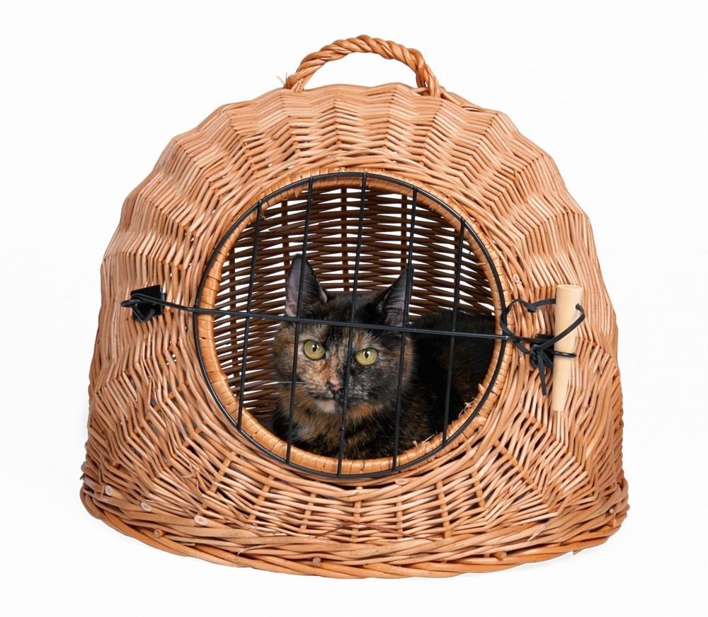 Trixie Transportín Mimbre Gatos / Perro 45 cm