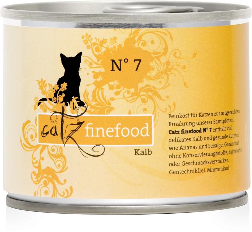 Catz Finefood No.7 Veal 200 g
