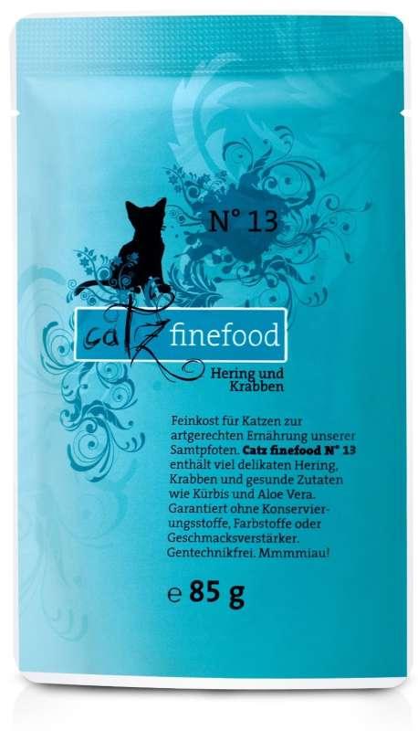 Catz Finefood No.13 Haring & Krab 85 g