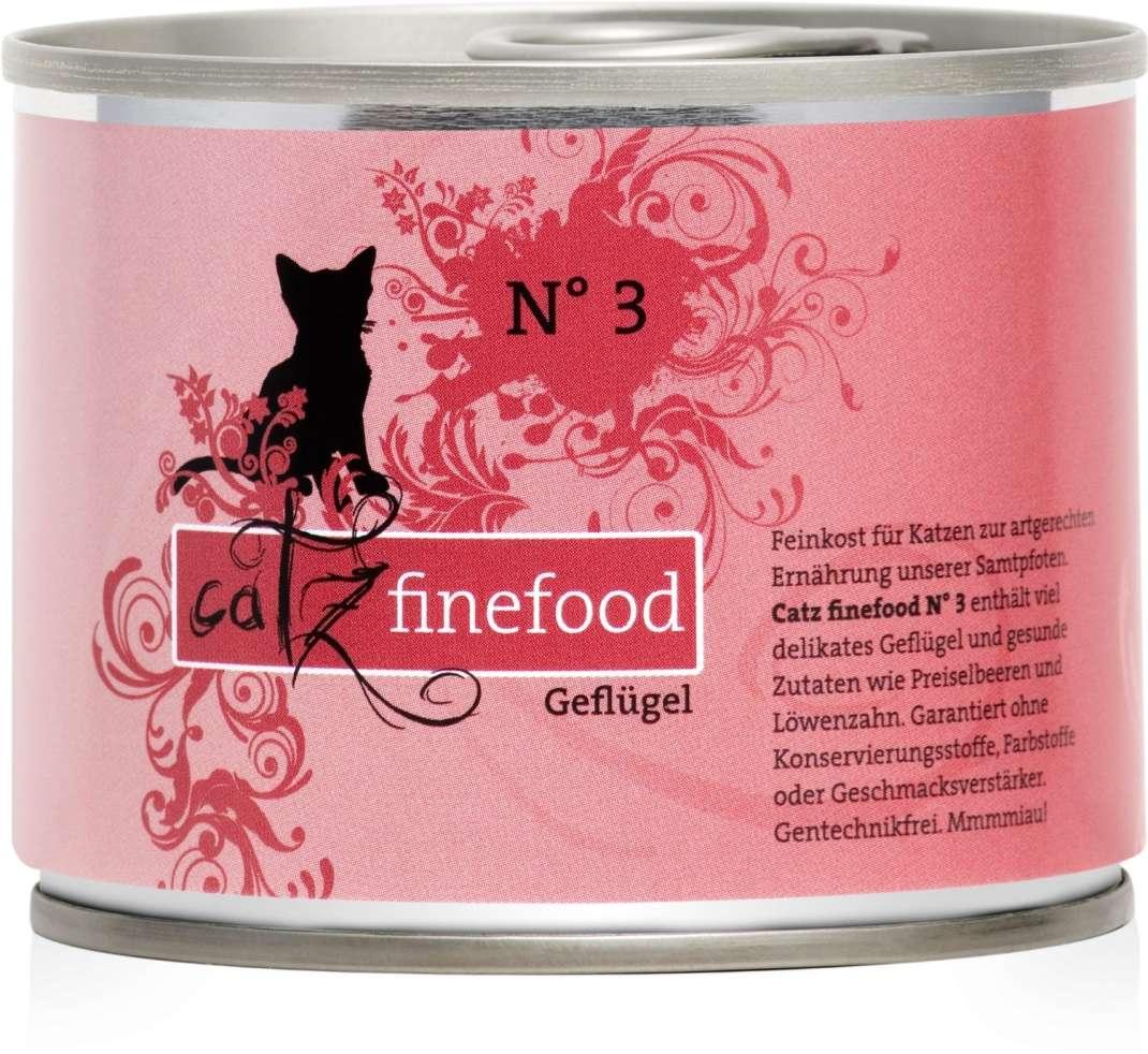 Catz Finefood No.3 Gevogelte 200 g