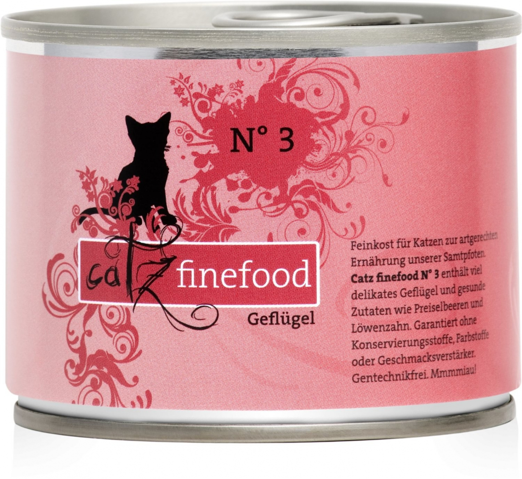 Catz Finefood No.3 Poultry 200 g