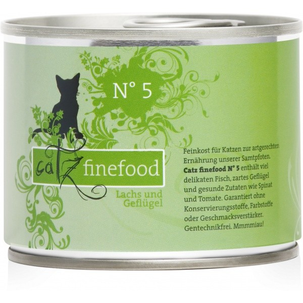 Catz Finefood No.5 Salmon & Poultry EAN: 4260101763082 reviews