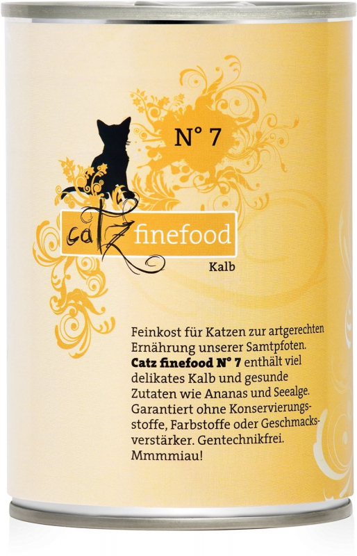 Catz Finefood No.7 Veal EAN: 4260101763082 reviews
