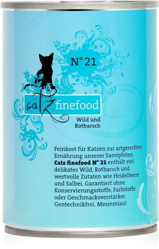 Catz Finefood No.21 Wild & Rosefish 400 g