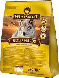 Wolfsblut Goldfields Adult Kameel en Zoete Aardappel 500 g, 2 kg, 15 kg