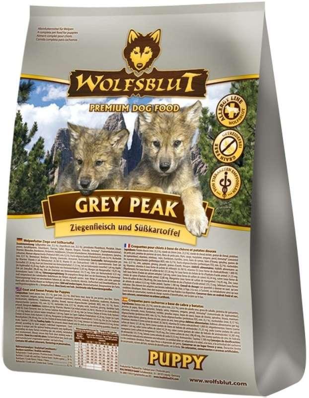 Wolfsblut Grey Peak Puppy Geitenvlees & Zoete Aardappel 7.5 kg, 500 g, 2 kg, 15 kg test