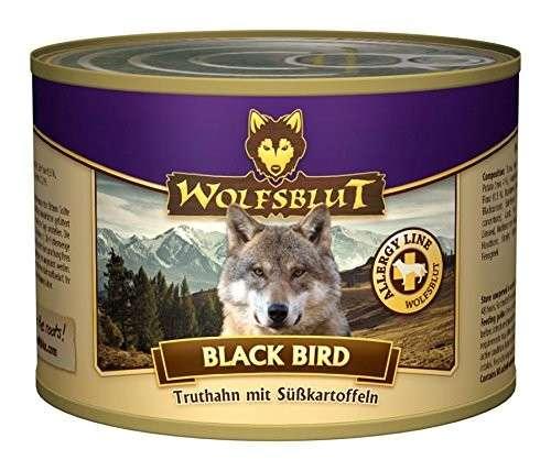Wolfsblut Black Bird dåsemad 200 g, 395 g