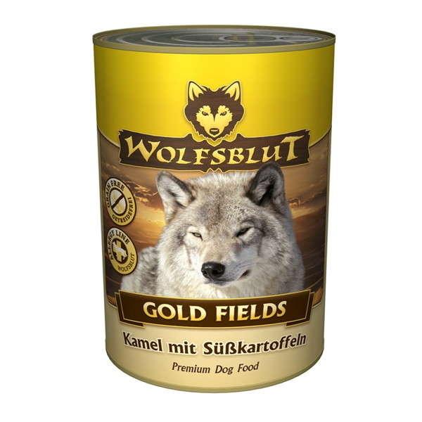 Wolfsblut Gold Fields Blik Camelvlees met zoete Aardappel 200 g, 395 g