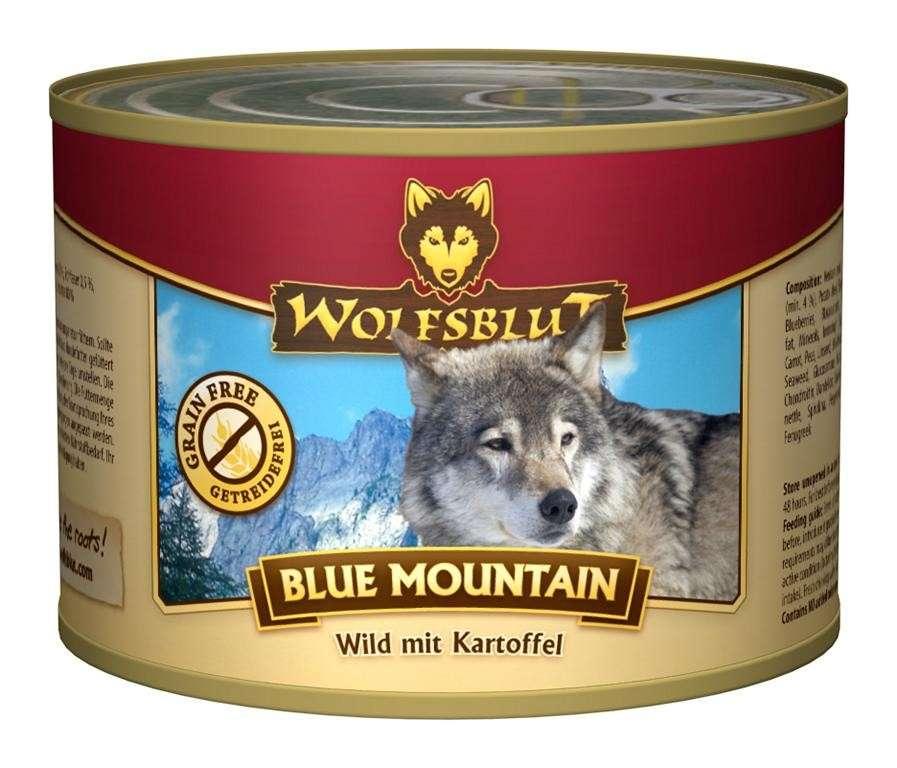 Wolfsblut Blik Blue Mountain Wild met Aardappel 200 g 4260262763150