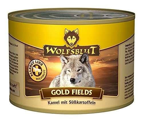 Wolfsblut Gold Fields Blik Camelvlees met zoete Aardappel 200 g 4260262762412
