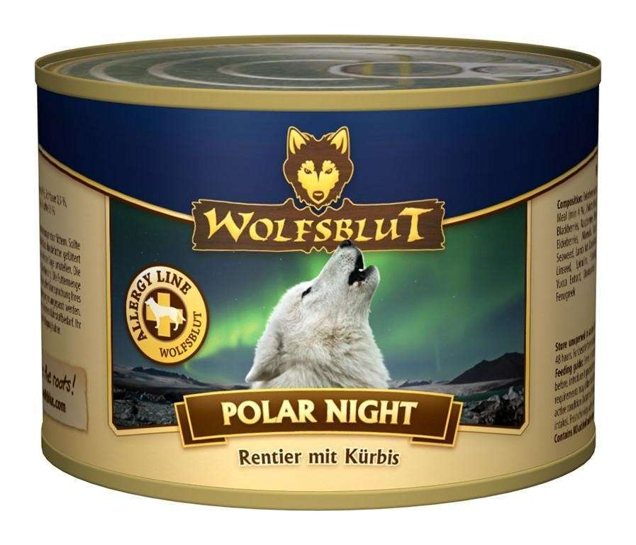 Wolfsblut Polar Night Rendier en Pompoen 395 g, 200 g