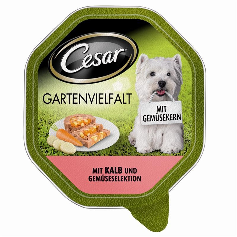Cesar Shell Garden Variety with Veal & Vegetables Selection 150 g
