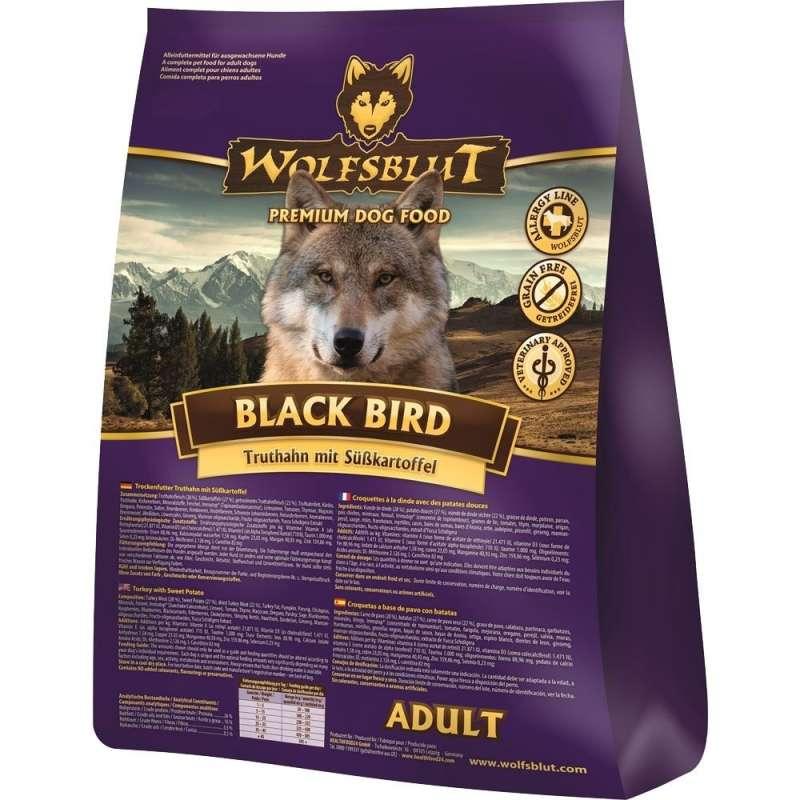 Wolfsblut Black Bird Adult Kalkoen met Zoete Aardappel 2 kg 4260262761231