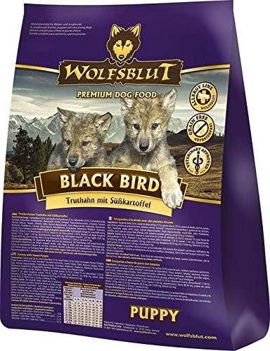 Wolfsblut Black Bird Puppy Kalkoen en zoete Aardappelen 15 kg, 2 kg, 500 g, 7.50 kg