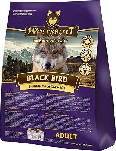 Wolfsblut Black Bird Adult Kalkoen met Zoete Aardappel 15 kg, 2 kg, 500 g, 7.50 kg