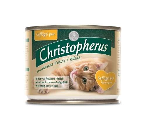 Christopherus Cat Dose Adult - Prato de Carne - Ave Doméstica 4005784174080 opinião