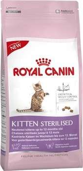 Royal Canin Feline Health Nutrition Kitten Sterilised 2 kg, 4 kg, 400 g