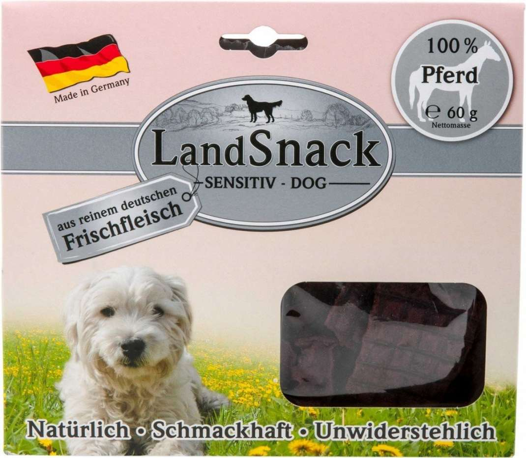 Landfleisch LandSnack Dog Sensitive Paard 60 g
