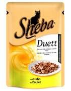 Sheba Bolsitas Duett con Pollo 85 g