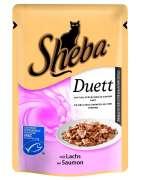 Sheba Bolsitas Duett con Salmón 85 g