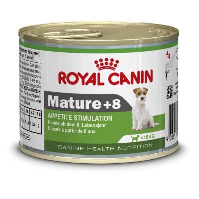 Royal Canin Canine Health Nutrition Mini Mature +8 195 g 9003579311509 erfaringer