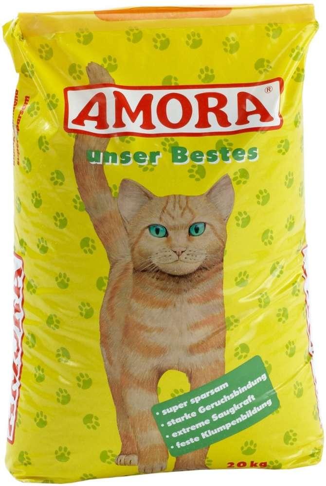 Amora Katzenstreu Unser Bestes 20 kg
