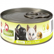GranataPetDeliCatessen Kitten - Veal & Turkey 6x100 g