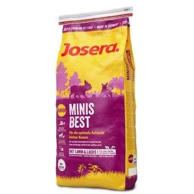 Josera Minisbest 4 kg, 15 kg, 1.5 kg
