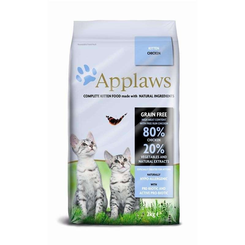 Applaws Kitten – Kyckling 2 kg, 400 g, 7.5 kg