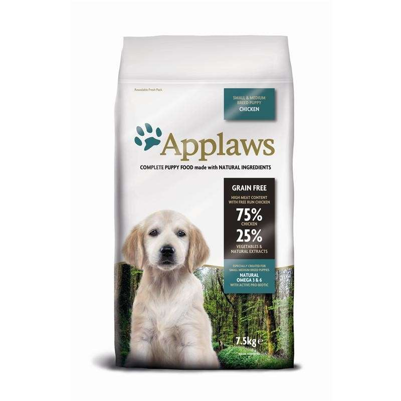 Applaws Puppy Small & Medium Breed Kip 7.5 kg