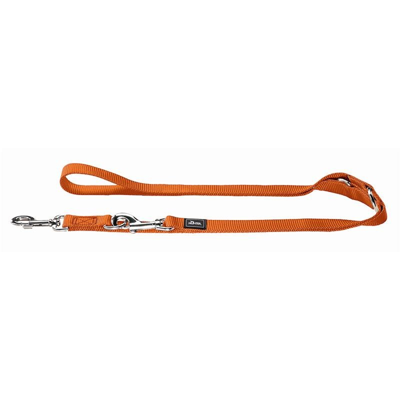 Hunter Verstellbare Führleine Nylon Orange 200x1.5 cm