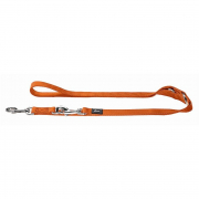 Nylon dog leads, flexi and various leashes for dogs Hunter Adjustable Leash, Nylon Orange