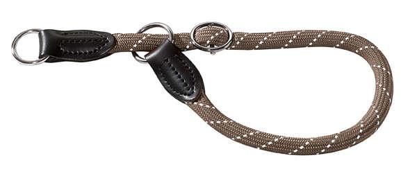 Hunter Dressuurlijn Freestyle Reflect, Grijs 45 cm met korting aantrekkelijk en goedkoop kopen