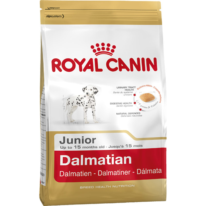 Royal Canin Breed Health Nutrition - Dalmatian Junior 3182550765169 kokemuksia