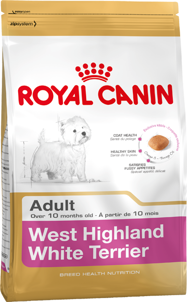 Breed Health Nutrition West Highland White Terrier Adult 1.5 kg
